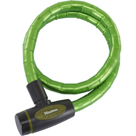 Masterlock 8228 PanzR Cable Lock 18 mm x 1.000 mm green